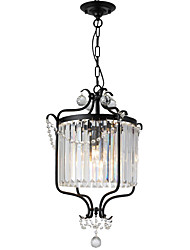 cheap -LightMyself™ 3-Light 42 cm Crystal Chandelier Metal Painted Finishes Rustic / Lodge / Retro Vintage 110-120V / 220-240V