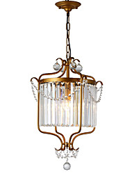 cheap -LightMyself™ 3-Light 42 cm Crystal Chandelier / Pendant Light Metal Painted Finishes Antique / LED 110-120V / 220-240V