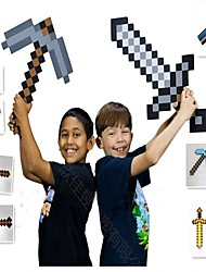 cheap -Minecraft Toys Sword Pick Axe Anime & Manga Simple PEVA 1 pcs Boys' Girls' Toy Gift