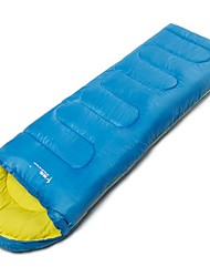 cheap -Sleeping Bag Outdoor Camping Envelope / Rectangular Bag 3 °C Single Hollow Cotton Windproof Rain Waterproof Warm Waterproof Zipper Thick Winter for Sleeping Bags Camping & Hiking Outdoor Recreation