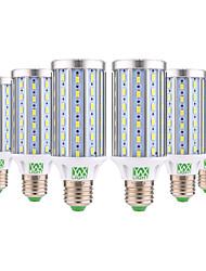 abordables -YWXLIGHT® 6pcs 25 W Ampoules Maïs LED 1400 lm E26 / E27 T 72 Perles LED SMD 5730 Décorative Blanc Chaud Blanc Froid 85-265 V