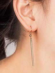 cheap -Women's Drop Earrings Hoop Earrings Ladies Simple Fashion Earrings Jewelry Gold / Silver For Daily Office & Career