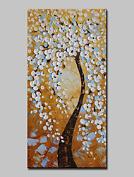 cheap -Mintura® Hand Painted Rich Tree Oil Paintings On Canvas Modern Abstract Flowers Wall Art Picture For Home Decoration Ready To Hang