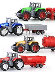 cheap -1:50 Plastic Shell Truck Farm Vehicle Dump Truck Toy Truck Construction Vehicle Kid's Car Toys