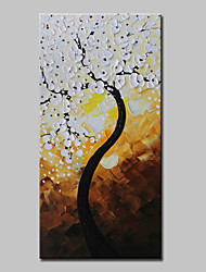 cheap -Mintura® Hand Painted Rich Trees Oil Painting On Canvas Modern Abstract Flowers Wall Art Picture For Home Decoration Ready To Hang