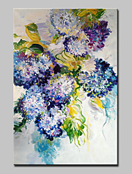 cheap -Mintura® Big Size Hand Painted Flower Oil Painting On Canvas Modern Abstract Wall Art Picture For Home Decoration No Frame
