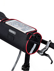 Недорогие -ROSWHEEL Сотовый телефон сумка Бардачок на раму Со светоотражающими полосками Складной Велосумка/бардачок полиэстер для печати Велосумка/бардачок Велосумка iPhone X / iPhone XR / iPhone XS