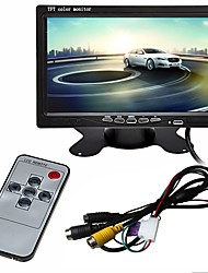 cheap -ZIQIAO 7 Inch HD TFT LCD Vehicle Backup Rear View Camera Monitor With Aviation Connector Video Cable