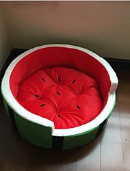 cheap -Cat Dog Mattress Pad Bed Sofa Cushion Bed Blankets Lounge Sofa Portable Foldable Soft Pet Mats & Pads Sponge Plush Fabric Cotton Fruit