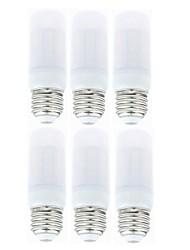 cheap -SENCART 6pcs 4 W LED Corn Lights 800-950 lm E14 G9 B22 T 36 LED Beads SMD 5730 Decorative Warm White White 85-265 V 12 V