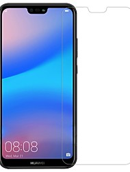 cheap -HuaweiScreen ProtectorHuawei P20 lite High Definition (HD) Front Screen Protector 1 pc Tempered Glass