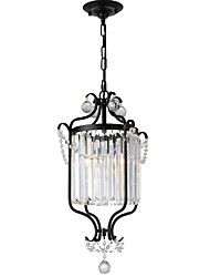 cheap -1-Light LightMyself™ 35 cm Crystal Chandelier Metal Painted Finishes Traditional / Classic / Globe 110-120V / 220-240V