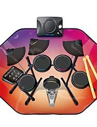 Недорогие -Музыкальное одеяло Бубен Барабанная установка голос Музыка Мальчики Детские Игрушки Подарок 1 pcs