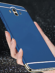 cheap -Case For Huawei Mate 10 / Mate 10 pro / Mate 9 Shockproof / Ultra-thin Full Body Cases Solid Colored Hard Plastic / Mate 9 Pro