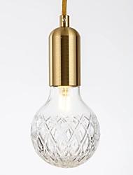 cheap -1-Light QIHengZhaoMing 10 cm Eye Protection Chandelier Glass Glass Brass LED / Chic & Modern 110-120V / 220-240V