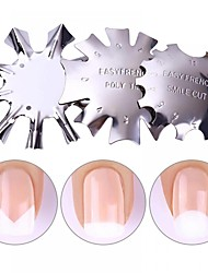 cheap -Three-piece Suit Nail Art Accessories Painting Durable Metallic Personalized Artistic Style Daily Diecut Manicure Stencil for Finger Nail Toe Nail