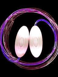 cheap -Luminous Shoelaces Decoration Creative Novelty Button Battery Powered 1 Pair