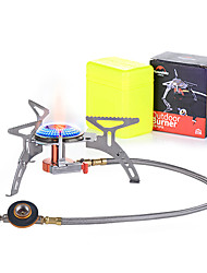 cheap -Naturehike Camping Stove Single Portable Mini Ultra Light (UL) for Stainless Steel Copper Aluminium alloy Outdoor Camping / Hiking Outdoor Picnic