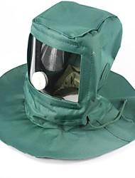 Недорогие -Кепка для туризма и прогулок Москитная сетка шляпа Лицевая Маска С защитой от ветра Дожденепроницаемый Защита от пыли Региональный маска водонепроницаемый&Пыленепроницаемость Холщовая ткань / Муж.