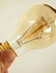 cheap -1pc 40W E26 / E27 A60(A19) Warm White 2300k Retro Dimmable Decorative Incandescent Vintage Edison Light Bulb 220-240V