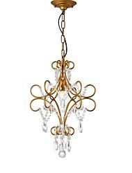 Недорогие -LightMyself™ 35 cm Люстры и лампы Металл Окрашенные отделки LED / Традиционный / классический 110-120Вольт / 220-240Вольт