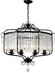 cheap -LightMyself™ 8-Light 85 cm Crystal Chandelier / Pendant Light Metal Painted Finishes Traditional / Classic / Lantern 110-120V / 220-240V
