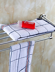 cheap -Towel Bar Contemporary Aluminum 1 pc - Hotel bath Double