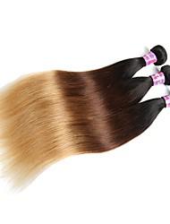 cheap -Unprocessed Human Hair / Virgin Human Hair Hair weave For Black Women / 100% Virgin Straight Brazilian Hair 300 g 12 Months Dailywear