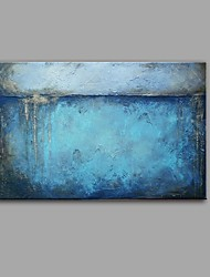 cheap -Oil Painting Hand Painted Vertical Panoramic Abstract Still Life Comtemporary Vintage Stretched Canvas