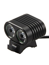 cheap -LED Bike Light LED Bicycle Cycling Waterproof Super Bright Portable Durable 8000 lm USB Daylight Camping / Hiking / Caving Everyday Use Cycling / Bike