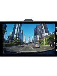 Недорогие -ziqiao jl-a6t 1080p полный hd двойной объектив автомобиль dvr камера ночного видения видеомагнитофон парковка монитор