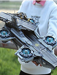 cheap -Helicarrier Building Blocks Military Blocks Construction Set Toys 3069 pcs Super Heroes Soldier compatible Legoing Focus Toy Exquisite Aircraft Carrier Boys' Girls' Toy Gift / Educational Toy
