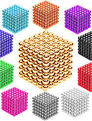cheap -216 pcs 3mm Magnet Toy Magnetic Balls Building Blocks Super Strong Rare-Earth Magnets Neodymium Magnet Neodymium Magnet Stress and Anxiety Relief Office Desk Toys DIY Adults' Unisex Boys' Girls' Toy