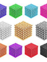 Недорогие -216*2 pcs 3mm Магнитные игрушки Магнитные шарики Конструкторы Сильные магниты из редкоземельных металлов Неодимовый магнит Головоломка Куб Магнитный Магнитный тип профессиональный уровень 3mm