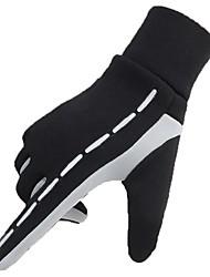 cheap -Full Finger Gloves Cold Weather Elastic Cuff Fishing Running Jogging Fleece Lycra Winter