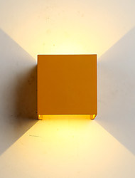 cheap -Mini Style / Waterproof Simple / Modern / Contemporary Wall Lamps & Sconces Living Room / Bedroom / Dining Room Metal Wall Light