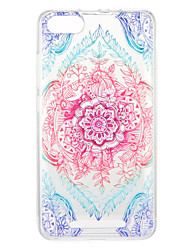 cheap -Case For Wiko Wiko U Feel Lite / Wiko U Feel / Wiko Sunny Pattern Back Cover Flower Soft TPU