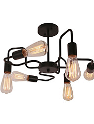 cheap -CXYlight 6-Light Chandelier / Flush Mount Ambient Light Painted Finishes Metal 110-120V / 220-240V Bulb Not Included