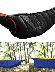 cheap -Camping Hammock Outdoor Camping Cylindrical 15 °C Single T / C Cotton Warm Thick Winter for Camping / Hiking / Caving Traveling Sleeping Bags Camping & Hiking Outdoor Recreation Sporting Goods