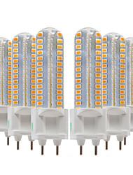 abordables -ywxlight® 6pcs 8w 700-800lm g12 led bi-broches lumières 128led smd 2835smd 360 degrés luminaire corn ampoule ac 220-240v