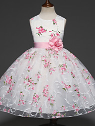 cheap -Summer Kids Clothes Baby Girls Flower Princess Dress for Wedding Party Toddler Girl Children Clothing