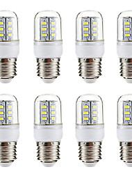 cheap -8pcs 3 W LED Corn Lights 270 lm E14 E26 / E27 24 LED Beads SMD 5730 Warm White White 220-240 V