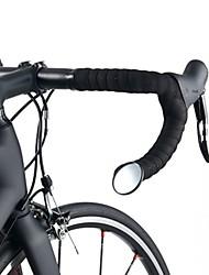 Недорогие -ROCKBROS Зеркало заднего вида Зеркало на велоруль с дропами Эластичный Безопасность Велоспорт мотоцикл Велоспорт Стекло Черный 1 pcs Шоссейный велосипед Горный велосипед