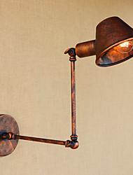 abordables -Antireflet / Style mini Rétro / Vintage / Rustique Lumières de bras oscillant Salle de séjour / Magasins / Cafés Métal Applique murale