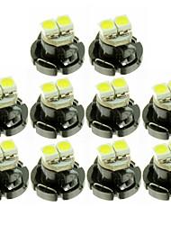 Недорогие -SENCART 10 шт. T3 / T4.2 / T5 Автомобиль Лампы Светодиодные лампы Внутреннее освещение For Универсальный Все года