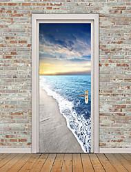 cheap -Still Life Nautical Wall Stickers Plane Wall Stickers 3D Wall Stickers Decorative Wall Stickers Photo Stickers Floor Stickers Door