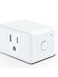 "cheap -Smart Plug Timing Function / No-Hub Required / Compatible Device 1pack PC / ABS Plug-in WiFi-Enabled / APP / Voice Control works with Google Assistant / works with ""Amazon Alexa Echo"