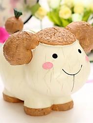 Недорогие -Копилки Собаки Овечья шерсть Cow Животный принт Милый Резина для Детские Мальчики Девочки