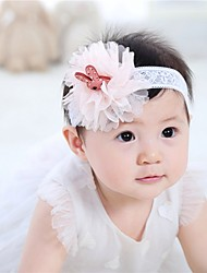 cheap -Infant Girls' Lace Hair Accessories Blue / Pink One-Size / Headbands