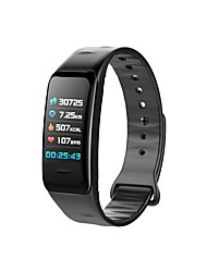 cheap -C1S Smart Wristband Bluetooth Fitness Tracker Support Notify/ Heart Rate Monitor Waterproof Sports Smartwatch Compatible Samsung/ Android/iPhone